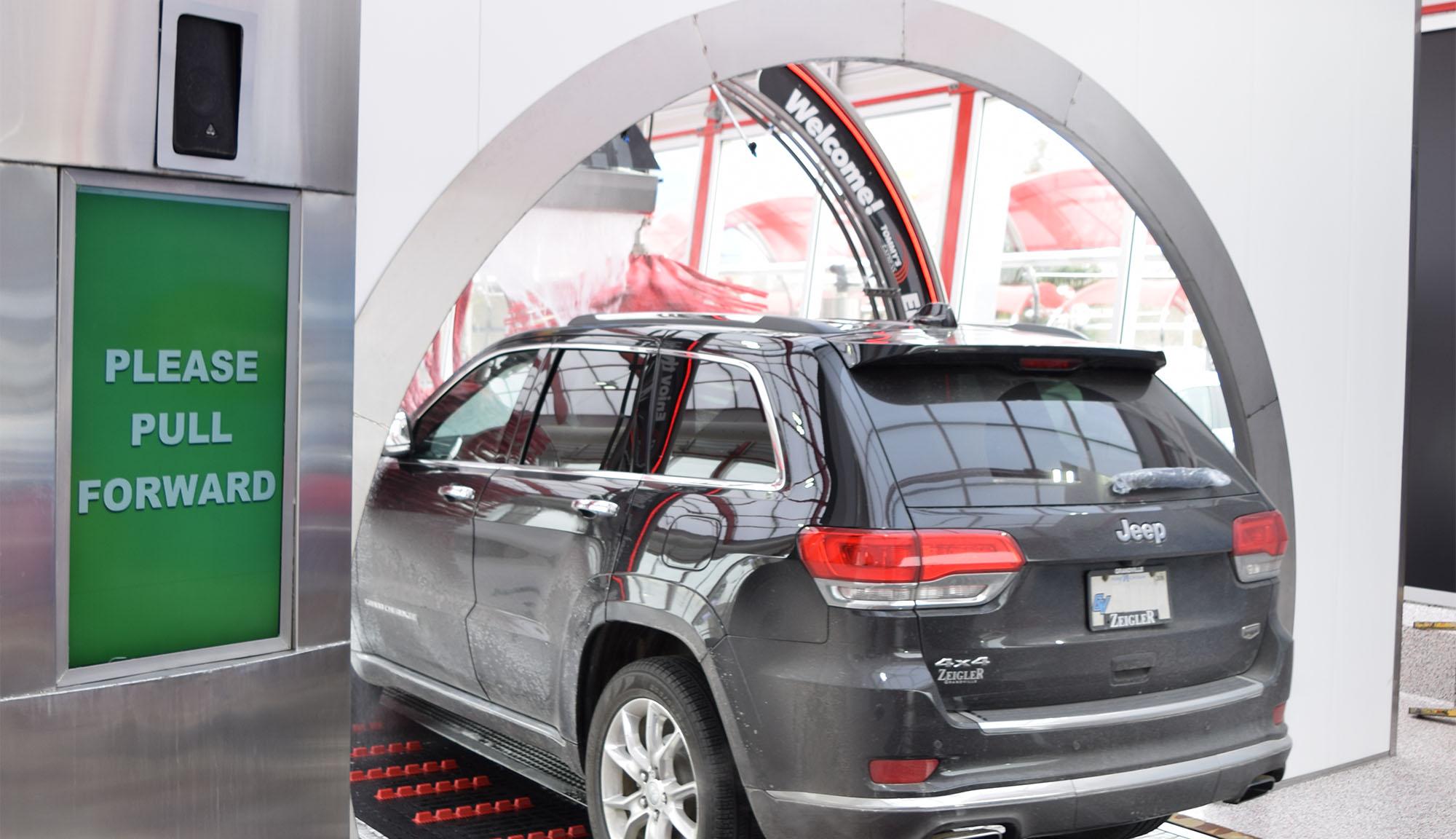 self car wash instructions