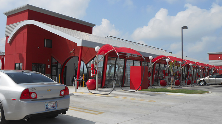 Car Wash Entrance Design