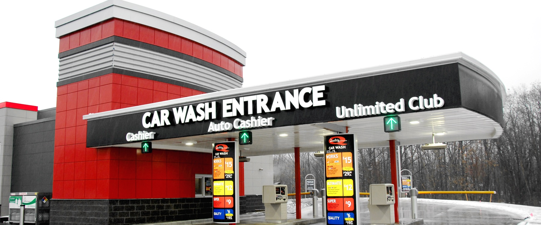 Modern Car Wash Architecture