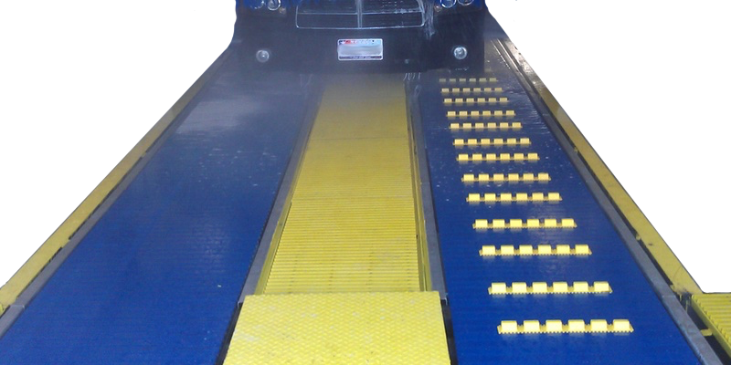 Car Wash Dual Belt Conveyor