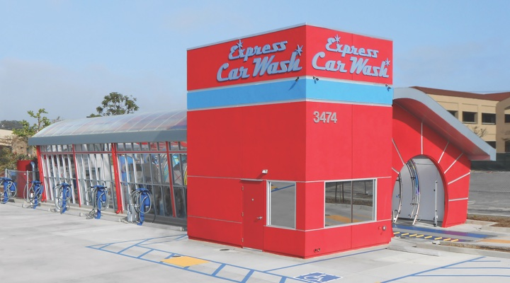 Car Wash Exit Design