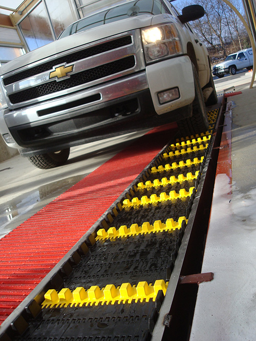 Dual Belt Carwash Conveyor